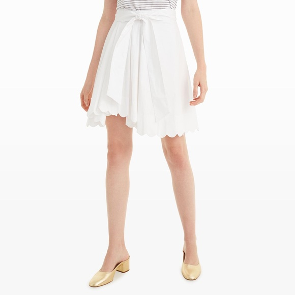 Club Monaco Dresses & Skirts - Club Monaco Vidorus Scalloped Skirt
